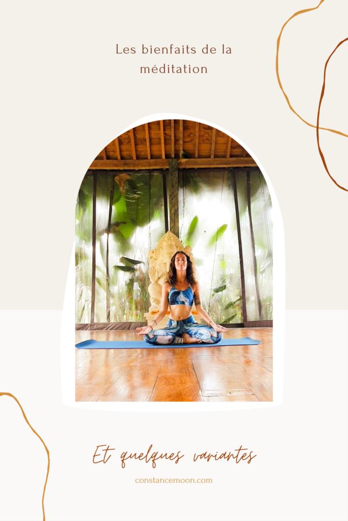 bienfaits de la méditation
