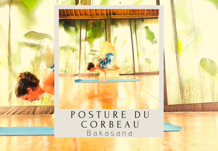 Posture du corbeau : Bakasana