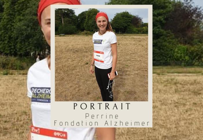 Perrine et la Fondation Recherche Alzheimer