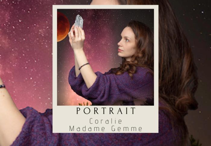 Portrait : Coralie, fondatrice de Madame Gemme