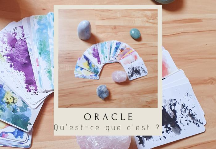 Qu'est-ce qu'un oracle en cartes ?