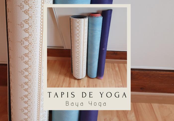 Mes tapis de yoga Baya France