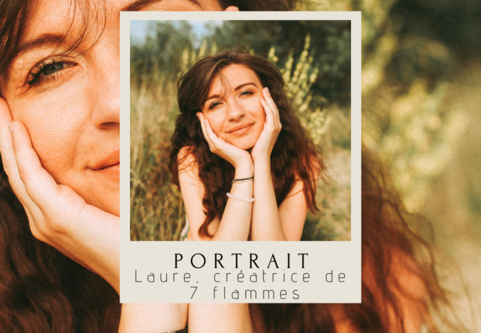 Laure, créatrice de 7 flammes, marque ayurvédique