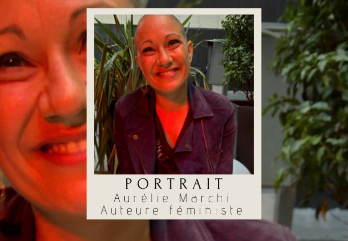 Portrait : Aurélie Marchi, auteure féministe