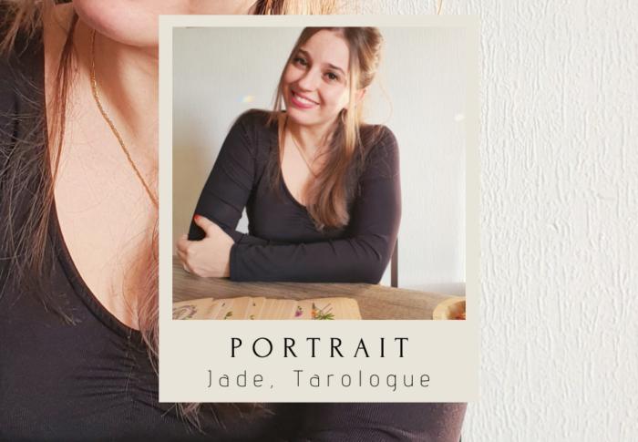 Portrait de femme : Jade, tarologue