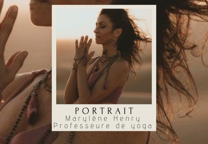 Portrait : Marylene Henry, professeure de yoga