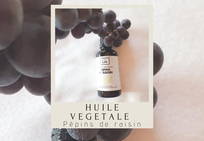 Huile végétale de pépins de raisin
