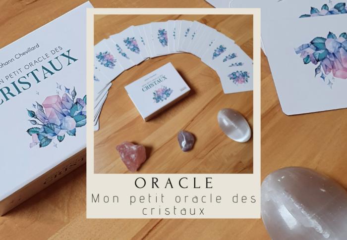 Mon petit oracle des cristaux, de Johann Chevillard