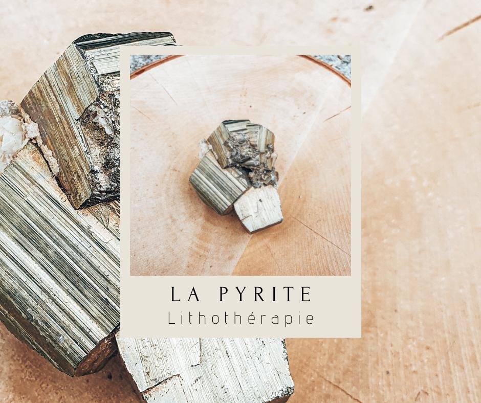pyrite-lithothérapie